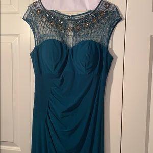Patra Green Event Dress